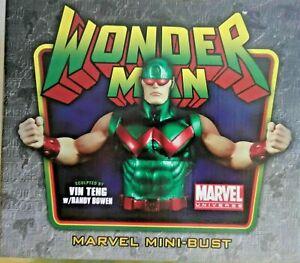 Bowen Designs Wonder Man Mini Bust Marvel Comics Figurine new statue wonderman