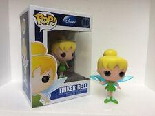 "Funko Disney TINKER BELL 3.75"" POP Vinyl Figure  BLUE DISNEY LOGO BOX"