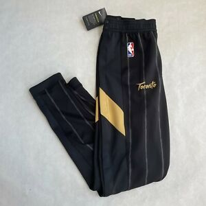 NWT Nike NBA Player Team Issued Flex Toronto Raptors Sweatpants Gold MEDIUM T
