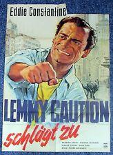 Lemmy Caution Sonne pour - Eddie Constantine - A1 Affiche de Film (x-1197