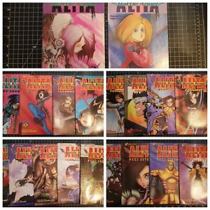 1992 Lot 19 Comics Battle Angel ALITA Viz GUNNM Manga Yukito KISHIRO Anime USA