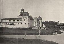 JURA. Lons- le- Saulnier. Etablissement Thermal 1895 old antique print picture