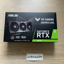 ASUS TUF Gaming NVIDIA GeForce RTX 3070 OC Edition Graphics Card *FAST SHIP*