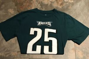 Youth NFL Eagles  #25 Lesean McCoy Green Jersey T-shirt XL 14 16