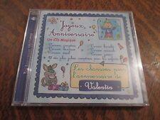 cd album bon anniversaire VALENTIN joyeux anniversaire