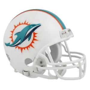 MIAMI DOLPHINS Riddell VSR4 Mini NFL Football Helmet