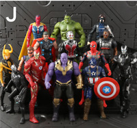 Marvel Avengers 3 Infinity War Super Hero PVC Action Figure Toys Gift Collection