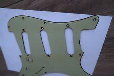1964 Fender Stratocaster Nitrate Celluloid Mint Green Pickguard '63-'65 Vintage