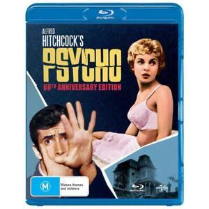 Psycho Blu-Ray (60th Anniversary Edition) **Region Free**