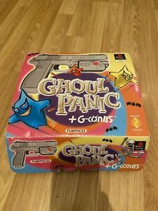Namco Ghoul Panic + G-CON 45 Gun - Boxed (Sony Playstation 1) PS1 GAME