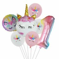 Rainbow Party Balloons Unicorn Decoration For Birthday Baby Shower Party