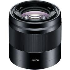 Sony E-Mount 50mm f/1.8 OSS Lens Black