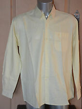 YVES SAINT LAURENT -Très jolie chemise jaune - taille 16,5- 33 - EXCELLENT ÉTAT