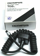 Olympus OM-sistema TTL Shoe Cord t 0,6m colocado