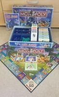 RARE 100% Complete Disney Edition Monopoloy Board Games Hasbro Waddingtons Walt
