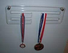 Medal Display Hanger in Clear Acrylic Medal Hanger Holder Rack With Stand offs
