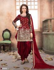 Indian anarkali salwar kameez suit designer pakistani ethnic wedding dress:m