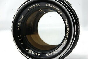 Olympus OM-SYSTEM G.ZUIKO AUTO-S 50mm F1.4 Lens  SN430044