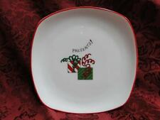 """Fitz & Floyd Essentials Merry Christmas: Presents! Square Plate 6 3/4"""""""