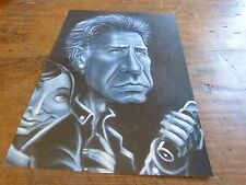 HARRISON FORD - Mini poster Noir & blanc !!! UK !!! CARICATURE !!!