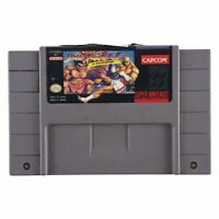 Street Fighter II: Turbo (Super Nintendo, 1993) Authentic Tested Works