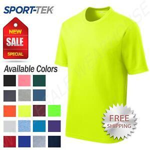 Sport-Tek Men's Dry-Fit RacerMesh Moisture Wicking T-Shirt M-ST340