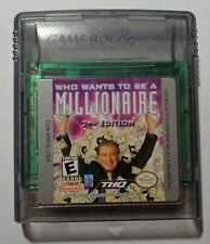 Who Wants To Be A Millionaire? 2nd Edition (Nintendo Game Boy Color, 2000)