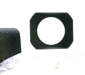 Asahi Pentax 49mm Rectangular Lens Hood for Takumar 28mm F3.5 W Leather Case