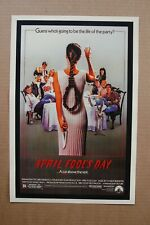April Fool's Day Lobby Card Movie Poster
