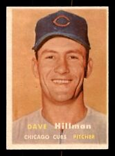 DAVE HILLMAN RC 57 TOPPS 1957 NO 351 EXMINT+ 21413