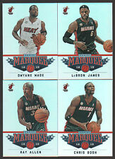 2012 2013 MIAMI HEAT 30 Card Lot w/ PANINI MARQUEE Team Set 12 FINALS Players !
