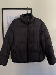 UNIQLO Ultra Light Down Puffer Jacket Black Women's Medium