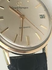 VINTAGE 1960's Girard Perregaux Gyromatic Gold Filled Automatic Original Dial