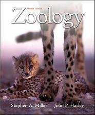 Zoology, Harley, John P., Miller, Stephen A., 0072988894, Book, Good