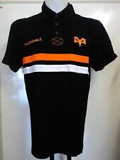 OSPREYS BLACK HOOPED POLO SHIRT BY KOOGA ADULTS SIZE LARGE BRAND NEW WITH TAGS