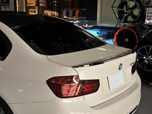 Carbon BMW F10 Trunk Deck Lip Spoiler P Type Sedan 528i 550i 535i 2010-2016