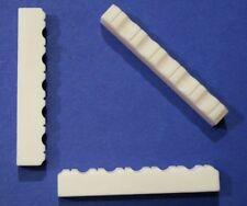 Knochen Sattel 52 mm, gebleicht, Spacing ca. 43 mm,Typ BK-07