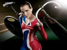 Victoria Pendleton Cycling Olympic 10x8 Photo #3
