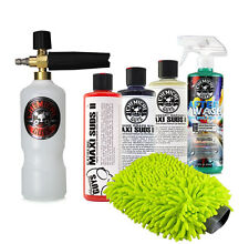 TORQ Professional Foam Cannon Kit with 3 Maxi Suds Soaps, AfterWash & Wash Mitt