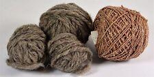 """Mixed Lot """"C"""" Specialty Yarns 2.1 oz Brown Yarns 4 balls"""