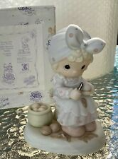"""Precious Moments """"Always Take Time To Pray"""" Pm952/1995 Members Only Retired Nib"""