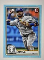 2020 Bowman Base Parallel Sky Blue #47 Fernando Tatis Jr.  /499 San Diego Padres