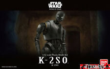 K-2SO Star Wars Rogue One Scale 1/12 Plastic Model Figure Kit Bandai Japan