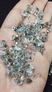 Finest Quality DT Diamond Quartz Crystals Baluchistan 225g wirewrapping jewelry