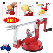 AU Stock 3in1 Apple Peeler Kitchen Tool Slinky Machine Fruit Cutter Slicer Corer