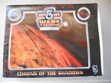 Babylon 5 Wars 2nd edition Coming of the Shadows board game gaming unpunched