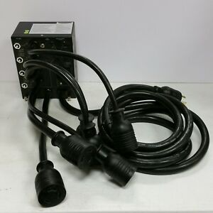 PD-006 UPS Maintenance Bypass Switch Box w/Circuit Breakers / Input breaker