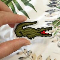 5PCS Alligator Embroidered Sew Iron On Patches Badge Bag Hat Fabric Applique DIY