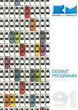 CATALOGUE MARKLIN - GESAMT PROGRAMM 1991