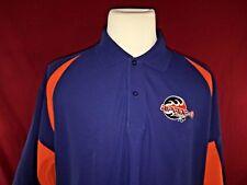 Riptide Lacrosse Blue & Orange Polo Golf Shirt Mens 2Xl Tonix Performance Fabric